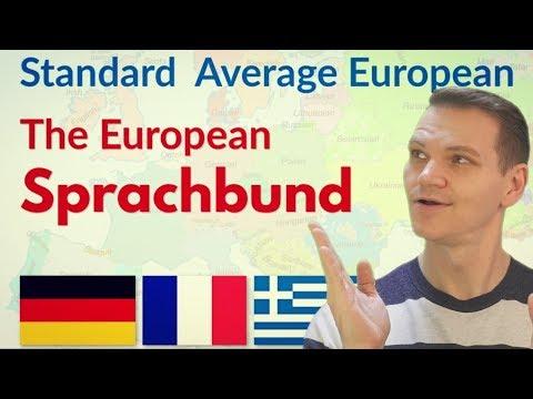 Standard Average European: The European Sprachbund