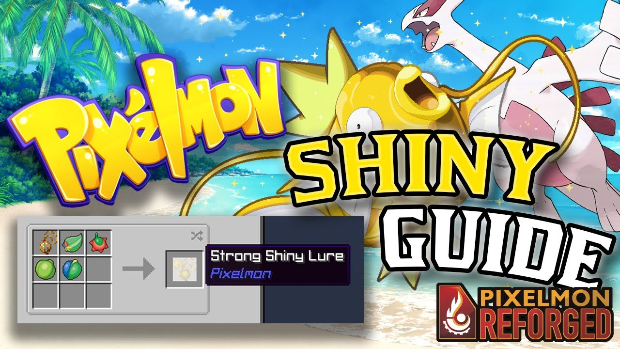 EASY SHINY POKEMON *NEW 8.8 LURES GUIDE*  Minecraft PIXELMON Mod 8.8.8