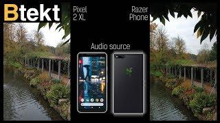 Razer Phone vs Pixel 2 XL video camera comparison