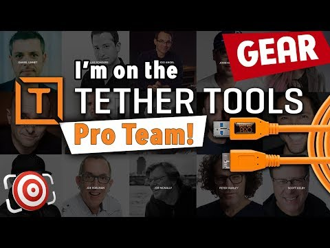 I am the newest member of the Tether Tools Pro Team!  Shooting Tethered Photography