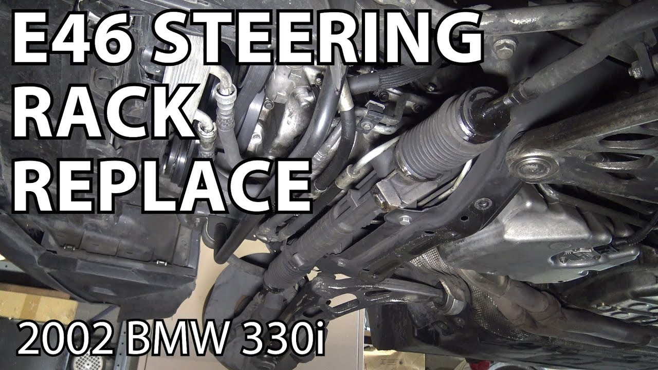 bmw e46 steering rack replacement youtubebmw e46 steering rack replacement