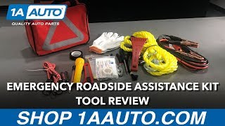 Emergency Roadside Assistance Kit - Available on 1aauto.com