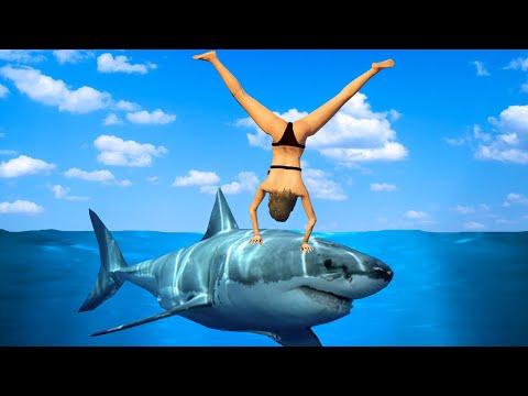 Приколы в играх WDF 8 | Лучше акулы, чем Тревор | Смешные моменты из GTA 5, WWE, FIFA 15