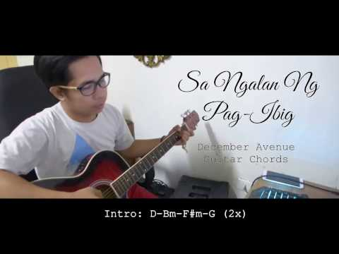 Sa Ngalan ng Pag-ibig - December Avenue (Guitar Chords)+ Lyrics