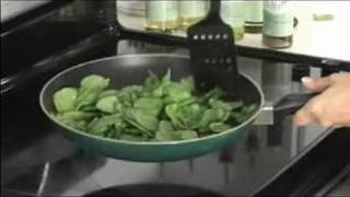 Healthy Meals In Under 30 Minutes : Quick Sauteed Spinach Recipe
