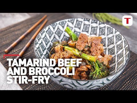 everyday-gourmet-|-tamarind-beef-&-broccoli-stir-fry-with-tefal-character-frypan