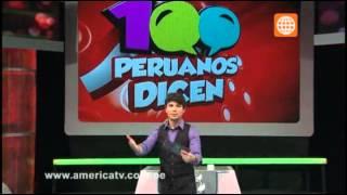 100 Peruanos Dicen - Domingo 2 de junio  (Bloque 3)