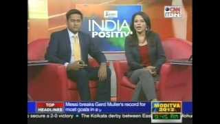STIR Education selected Micro innovations featured in CNN IBN India Positive