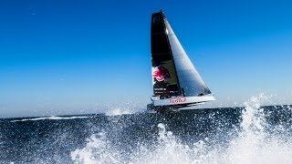 Meet the F4: A Flying Catamaran Built for the Open Ocean