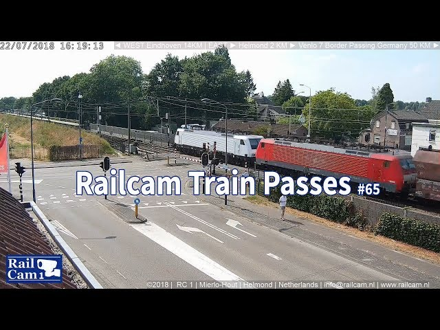 RailCam with 21 train passes #65