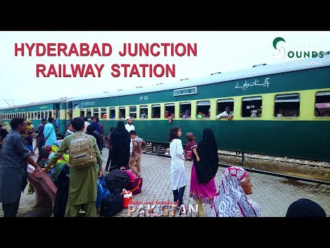 Hyderabad Junction railway station Pakistan | 4K Ultra HD