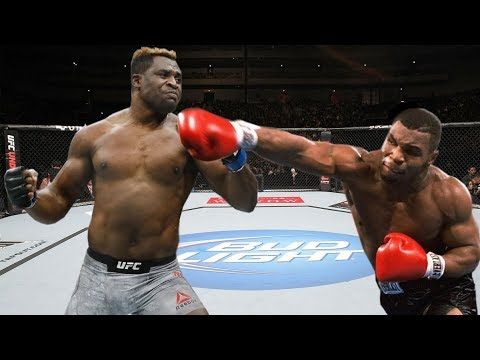 Mike Tyson Vs Francis Ngannou Hardest Punch Ever