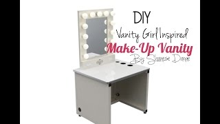 Diy | Hollywood Make-up Vanity💄