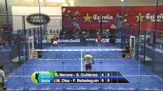 Final, Padel Tournament PPT Gijon 2012, con Fernando Belasteguin y otros