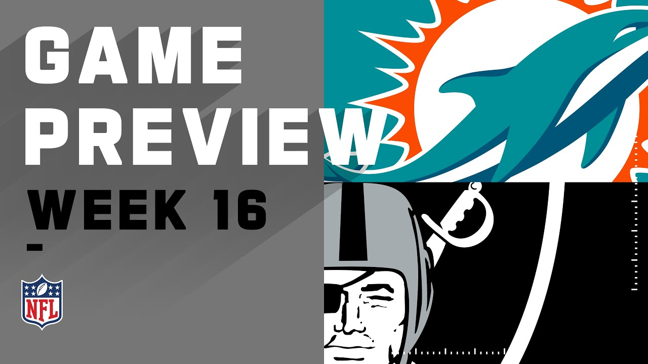Live updates: Raiders take early lead over Dolphins