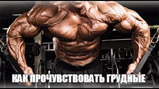 Грудные Мышцы - Как прочувствовать! СУПЕР УПРАЖНЕНИЕ от PRO