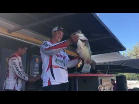 Chico State takes the lead with 9-pound, 10-ounce bass