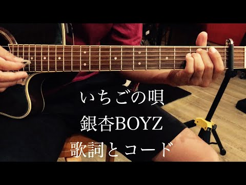 いちごの唄/銀杏BOYZ/峯田和伸/ギター/コード/弾き語り - YouTube
