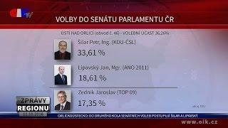 Orlickoústecko: Do druhého kola senátních voleb postupují Šilar a Lipavský