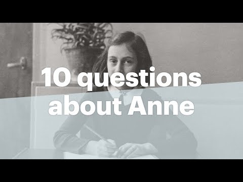 10 Questions About Anne Frank | Anne Frank House | Explained