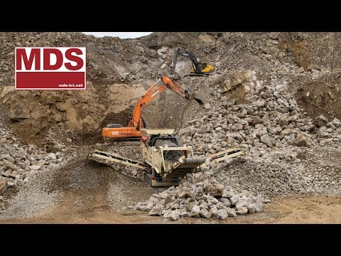 M515 Cleaning Rocks by removing very Sticky Clay