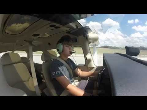First Solo Flight | Chattanoga Airport | Age 16