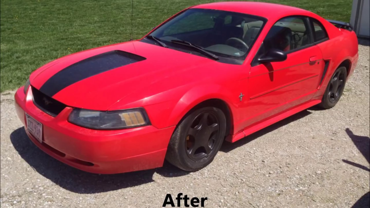 How To Make Your 1999 2004 Mustang Look Cooler Easy