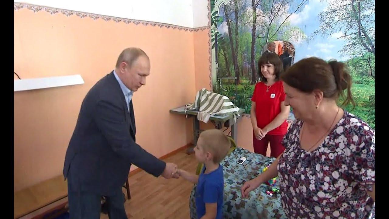 «А вы Путин?»: мальчик из Тулуна попросил президента ещё раз приехать в Иркутскую область