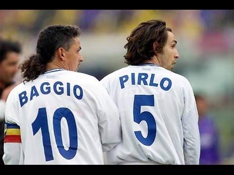 Perfect Pirlo pass for Brilliant Baggio goal - Juventus v Brescia