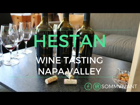 HESTAN VINEYARDS - WINE TASTING NAPA VALLEY