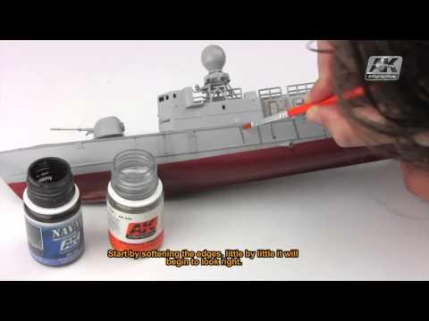 AK305 STREAKING GRIME FOR LIGHT GREY SHIPS