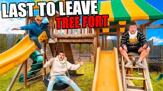Last To Leave TREEHOUSE Fort Wins PS5
