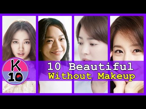 Top 10 Most Beautiful Korean Actress Without Makeup