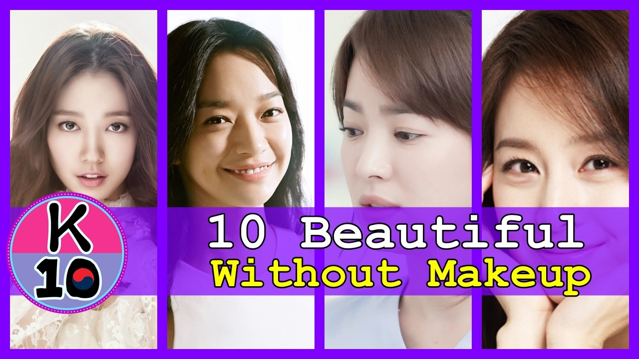 top 10 korean actress without makeup | saubhaya makeup