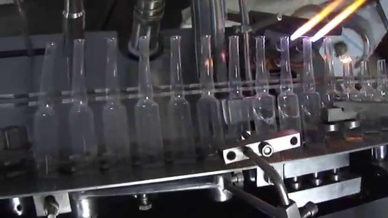 Ampoule Filling Machine Ampoule Sealing Machine Ampoule