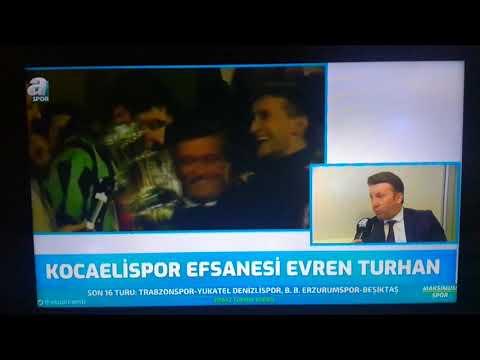 Evren TURHAN Kocaelispor'da oynadığı dönemi anlatıyor   Değirmendere Offical