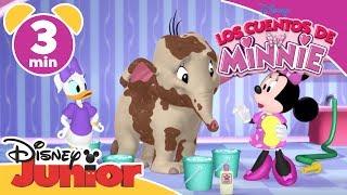 Disney Junior España | Los cuentos de Minnie: Limpiando al paquidermo
