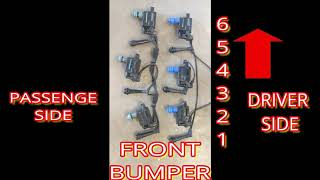 2001 2002 2003 2004 2005 LEXUS IS 300 COIL PACK SPARK PLUG WIRES INLINE 6  FIRING ORDER - YouTube | 99 Lexus Gs300 Ignition Coil Wiring Diagram |  | YouTube