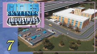 Добыча нефти на воде. Фабрика детских игрушек | Cities Skylines Industries #7