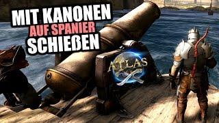 Atlas EU PvP Server #8 Mit Kanonen auf Spanier schießen! | Atlas Gameplay German | Atlas Deutsch
