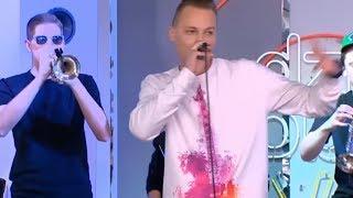 """Najlepszy Przekaz w Mieście z piosenką """"Zawsze Do Celu"""" na scenie Dzień Dobry TVN"""