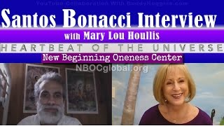 Santos Bonacci Syncretism & Flat Earth Interview with Mary Lou Houl...