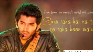 Sun Raha Hai Na Tu Karaoke (Male)
