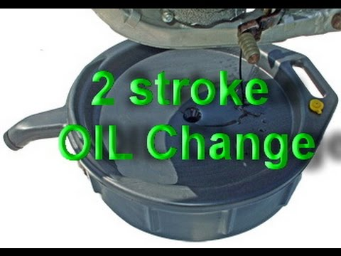 Oil Change Yamaha YZ250 2 stroke