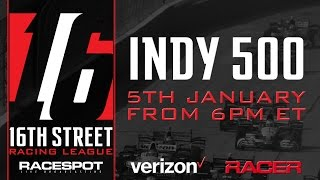 2016 16th Street Racing League Indianapolis 500