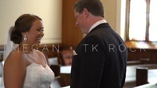 Megan + TK Rock Wedding Highlight | 2016 (Lafayette, IN)