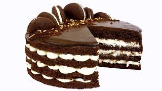 "Торт ""Вупи пай""(whoopie pie). Супер шоколадный торт. Рецепт в домашних условиях."
