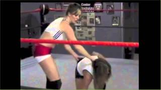Velvet Sky and Christie Ricci wedgie fight