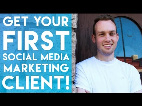 The Perfect Way to Get Your First Social Media Marketing Client