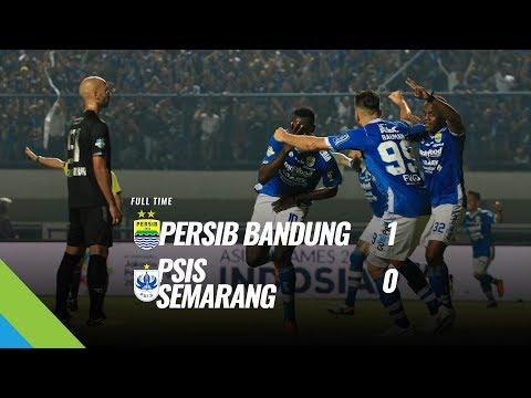 [Pekan 14] Cuplikan Pertandingan Persib Bandung Vs PSIS Semarang, 8 Juli 2018